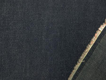 デニム 生地 6オンス デニム ストレッチ 濃紺 125cm幅 [DE2211]