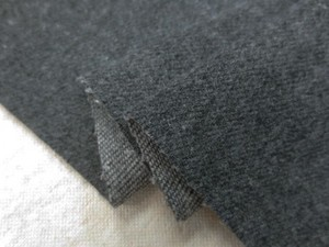 デニム 生地 10オンス デニム ストレッチ 洗い加工 杢濃グレイ 142cm幅 [DE2212]