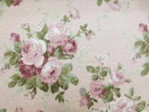 YUWA フクレジャガード すごくいい色合いと風合いの フクレジャガードの花柄です。 薄い色合いのサモンピンク