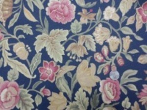YUWA 11号帆布 プリント ソフト加工で柔らかい風合い 色合いも洗ったような感じのやさしい 色合いです。 濃紺地