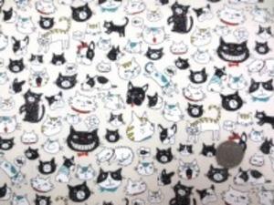 コットン オックス FUNNY CATS&DOGS 生成地