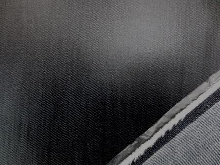 ラミネート 生地 デニムラミネート ムラ糸濃紺 150cm幅 [BN544]