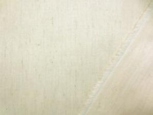 ツイルくらいの厚さの綿麻生成ストレッチ ミニヘリンボーン ヘリンボーンの織りですが、織柄は ほとんど目立ちません。 すごく柔らかい風合いで、よく伸びます。 某有名アパレル使用生地