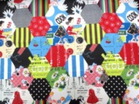 Suzuko Koseki ビカビカチンツ  Hexagon カラフル