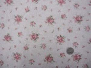YUWA 綿麻プリント  ピンク系/生成地 綿麻では、珍しく小さめの花柄です。 エアタンブラー加工