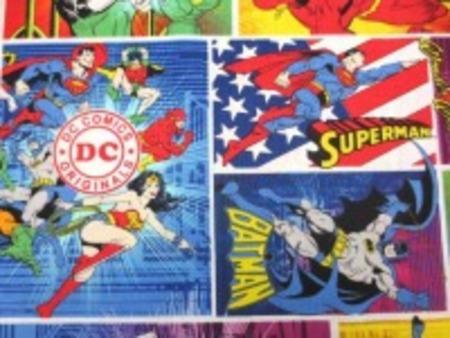 アメコミヒーロー 生地 marvel comics [PT4248」