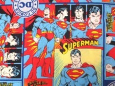 スーパーマン 生地 SUPERMAN USA プリント [PT4247]