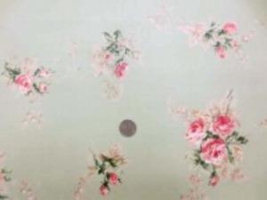 YUWA 綿の花柄ビニールコーティング