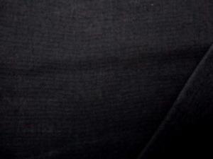 ダブルガーゼ  黒 エアタンブラー ソフト加工で、 やわらかい、いい風合い