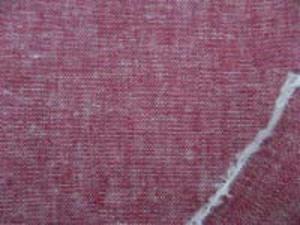 ダークレッド 麻の混率の高い綿麻無地 何にでも使いやすい厚さ ギンガムシリーズと同じ色の先染無地