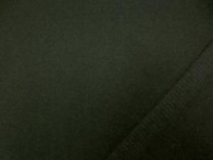 ウール ソフトメルトン 濃カーキ 濃いめのカーキグリーン あまり厚くないメルトンで、 扱いやすい柔らかい風合いです。