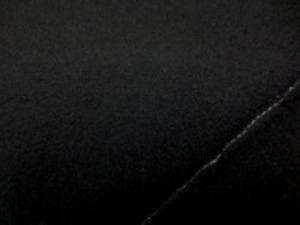 ウール フラノ 濃紺 すごく濃い紺です。 柔らかい風合いです。