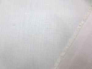 TCピケ 白 薄手の細畝のピケです。