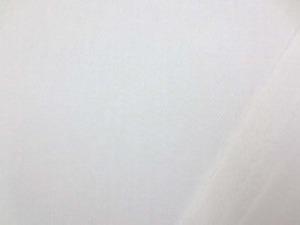 コットンツイル 白 晒の真っ白です。