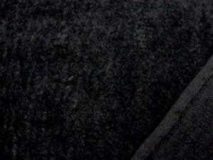 シャーリングタオル 黒 普通のタオルのループをカット ふわふわして肌ざわりいいです。