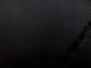 黒 綿麻キャンバス  名前はキャンバスですが、そんなに 厚くなくて、使いやすい厚さです。