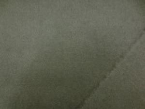 ウール ソフトサキソニー カーキ 柔らかく、肌触りのいい風合いです。