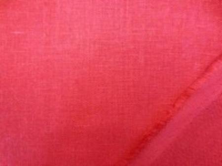 リネン 生地 ヨーロッパリネン  少し濃いめのきれいな赤 [AS957]