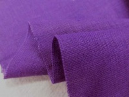 リネン 生地 ヨーロッパリネン 紫 [AS927]