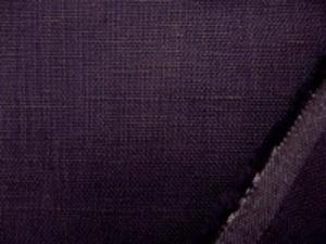 リネン 生地 ヨーロッパリネン ダークバイオレット [AS608]