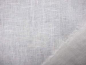 リネン 生地 ヨーロッパリネン 洗い加工 オフ白 [AS708]