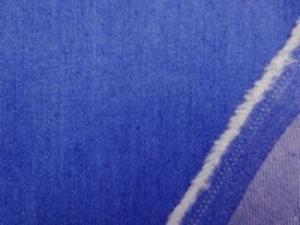 8オンスデニムくらいの ストレッチデニム フェイドカラー ダークブルーネイビー あまり伸びません