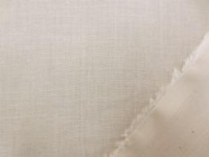 80超長綿 オーガニックボイル  ベージュ 薄手のローンタイプです。 超長綿で、肌触りのいい風合い