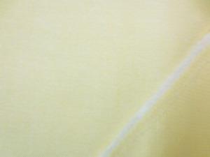 シャツなどによく使われている コットンオックス ライトイエロー うすい黄色です。
