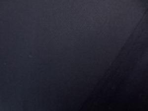 20Sツイル 濃紺 いい風合いの生地です。 反物表示カラー オックスフォードブル