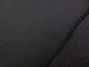 ポリエステルツイル 黒 柔らかい風合いです。