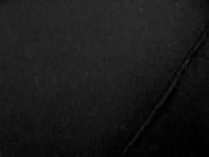 40/2 コーマ天竺 黒 柔らかい風合いで、肌ざわりいいです。 あまり伸びません