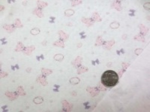 接結ドビーニット 薄いピンク 柔らかい肌触りのいい風合いです。