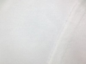 裏毛トレーナー地   白  真っ白 厚手でも、柔らかい風合いの裏起毛