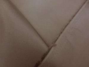 旭化成ベンベルグ ダークグレイジュ モカブラウンのような感じの色あい 標準の一番使いやすい平織り裏地。