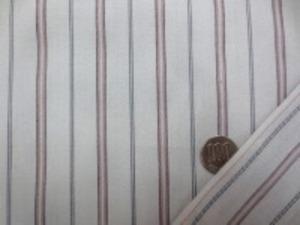 スレキ ストライプ ダークレッド ダークグレイ ライン/ グレイ地 グレイ部分に綾織柄がはいっています。