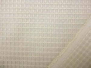 ポリエステルと綿の プレーンな生成のワッフル ワッフルの大きさ5mm