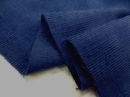 シャツコール ネイビー シャツなどに使われる薄手の極細畝の コール天です。 畝幅1mm