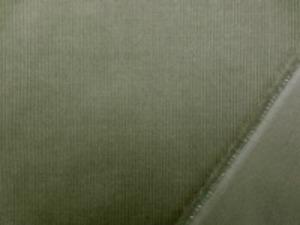 シャツコール モスグリーン シャツなどに使われる薄手の極細畝の コール天です。 畝幅1mm