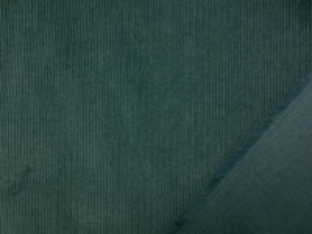 シャツコールよりも少し厚手の 細畝コール天 グリーン 畝の大きさはほぼ同じです。 畝幅1mm