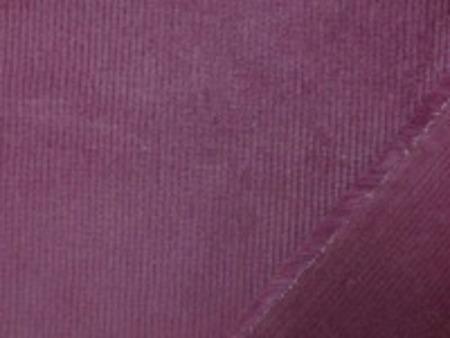 細畝の少し厚めの柔らかい風合いの コール天ストレッチ  ワイン 畝幅1mm