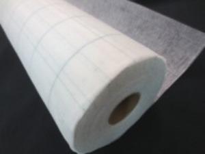 不織布 方眼入り 型紙用不織布 100m巻き [UR485]