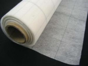 不織布 方眼入り 型紙用不織布 20m巻き [UR120]