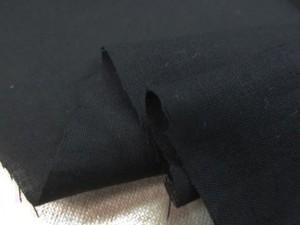 コットン 生地 スラブローン 黒 110cm幅 [MU1082]