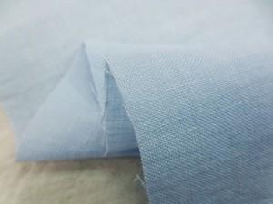 リネン 生地 フレンチリネン ライトブルー 118cm幅 [AS1117]