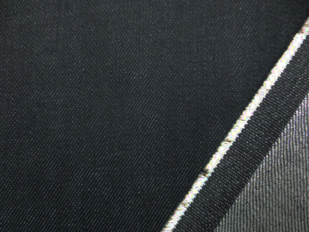 デニム 生地 12オンス デニム ストレッチ 濃紺 150cm幅 [DE2219]