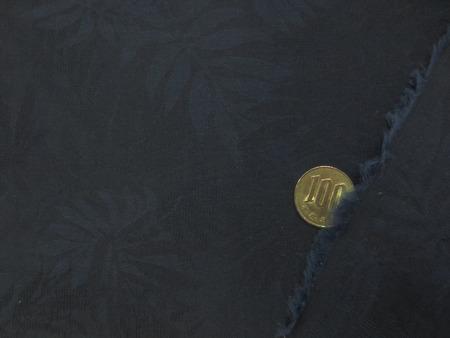 ダンガリー 生地 ジャガードダンガリー 濃紺 118cm幅 [DE2235]