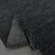 デニム 生地 8オンス デニム 黒 ワッシャー 152cm幅 [DE2094]