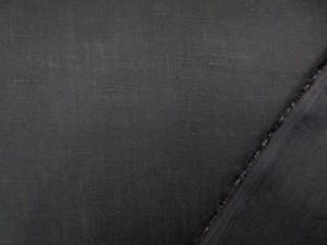 リネン 生地 フレンチリネン 濃紺 138cm幅