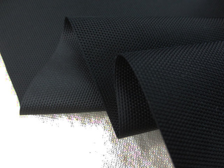 撥水 生地 撥水加工 ナイロン オックス 黒 123cm幅 [MU1084]