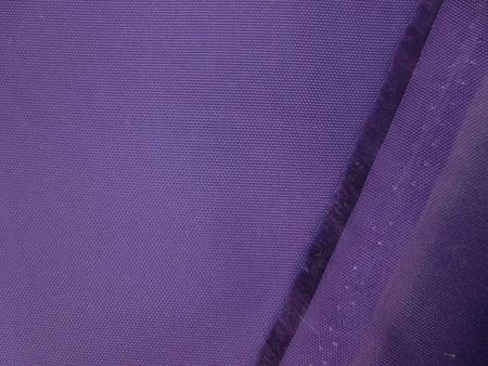 撥水 生地 撥水加工 ナイロン オックス バイオレット 118cm幅 [MU1089]